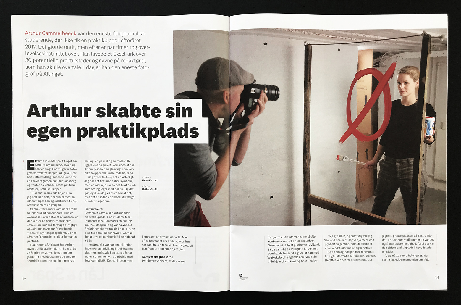 Arthur Cammelbeeck In The Magazine Journalisten Dmjx Photojournalism